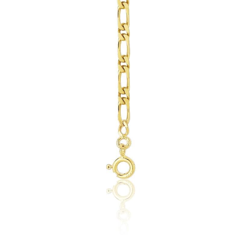7165987a0c10 Cadena Oro Amarillo 18 quilates Bilbao 1x1 45 cm - Manillon - Ocarat