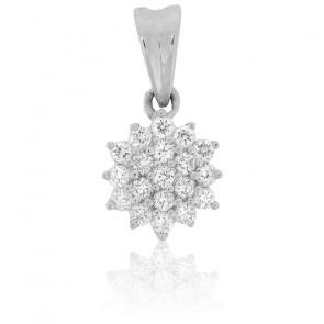Colgante Copo de Diamantes