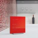 Reloj Qlocktwo Touch - Cherry Cake - 13.5 cm