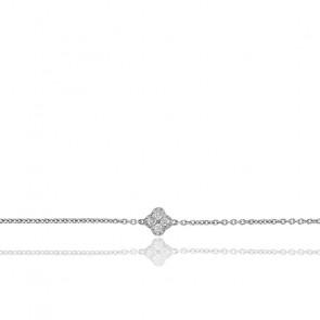 Pulsera Nixie Oro Blanco y Diamantes 0,16 ct