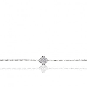 Pulsera Nixie Oro Blanco y Diamantes 0,50 ct