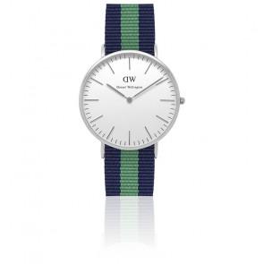 Reloj Classic Warwick Plateado 40mm