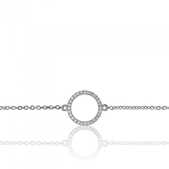 647a44d91ff8 Elegante pulsera oro blanco y diamantes - Allegoria - Ocarat