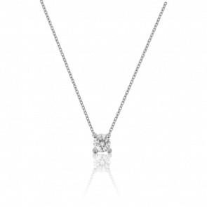 Collar Diamante Solitario 0,09 ct G/VS1