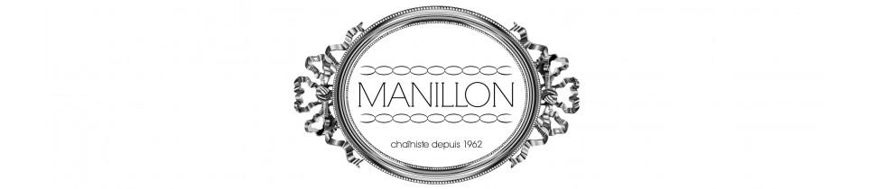 Cadenas de oro y plata Manillon