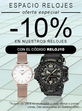 -10% en nuestros relojes